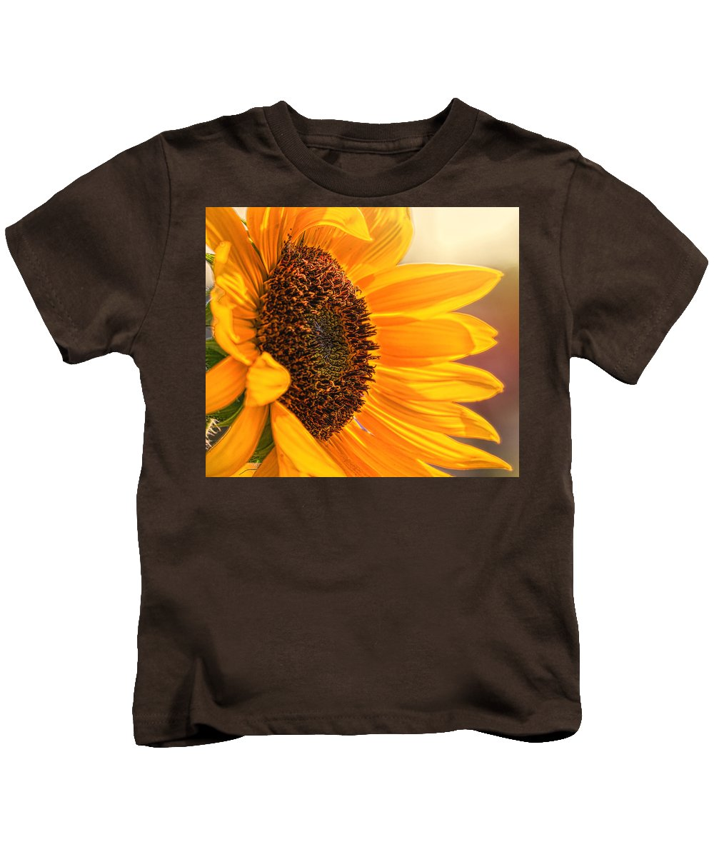 Pennsylvania Kids T-Shirt featuring the photograph Sunny Beauty by Judy Witter