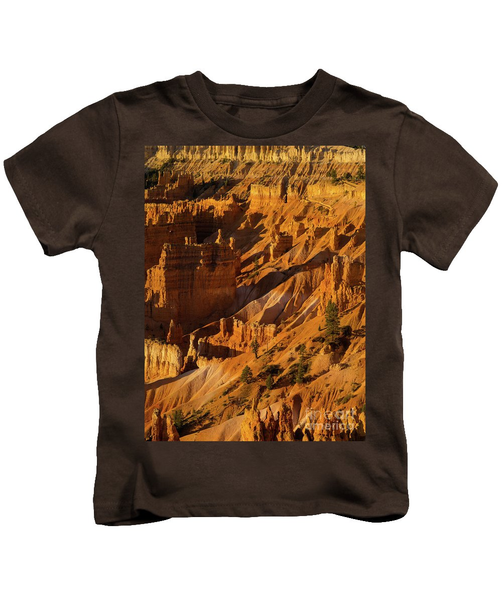 Bryce Kids T-Shirt featuring the photograph Sunrise Point 6 by Tracy Knauer