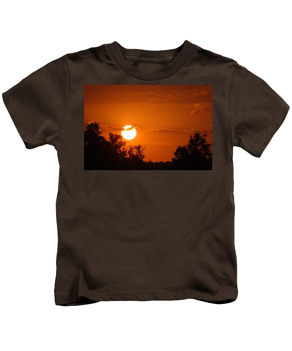 Sunsets Kids T-Shirt featuring the photograph Sunset Of Charleston Sc by Donna Bentley