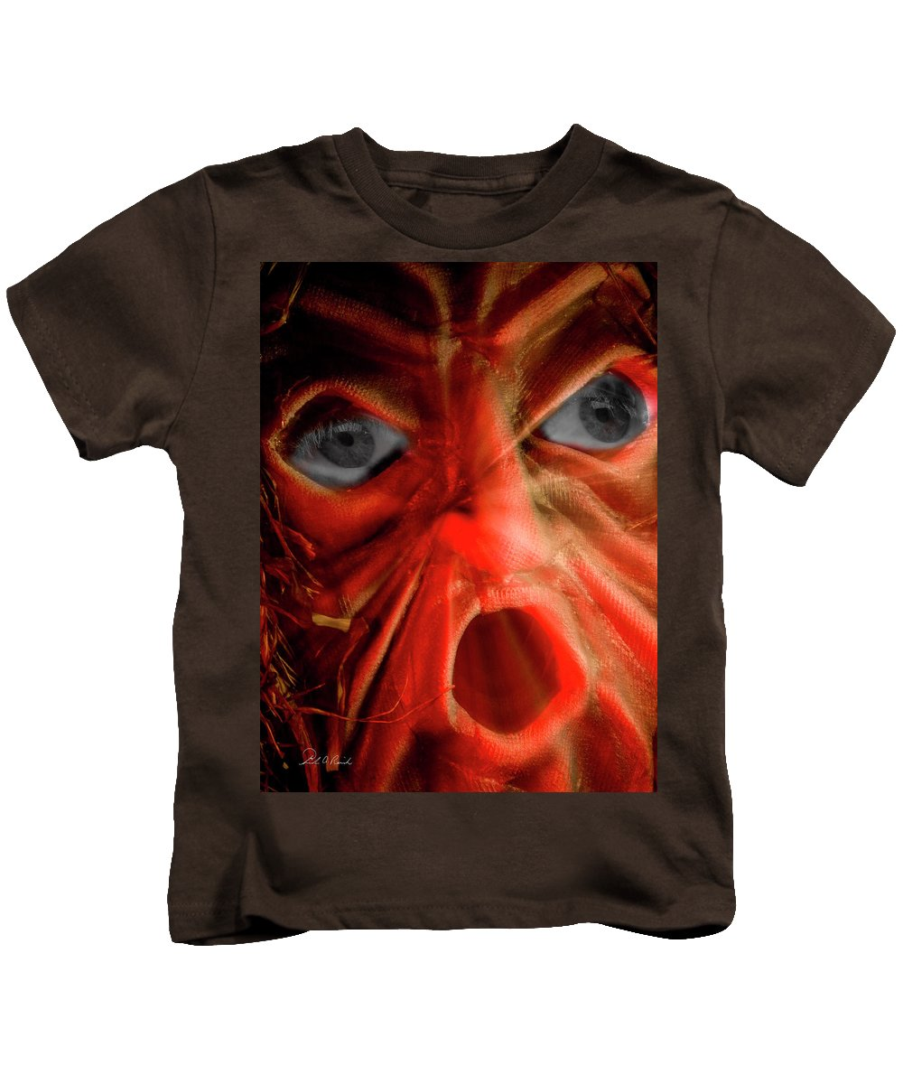 Photography Kids T-Shirt featuring the photograph The Eyes Have It by Frederic A Reinecke