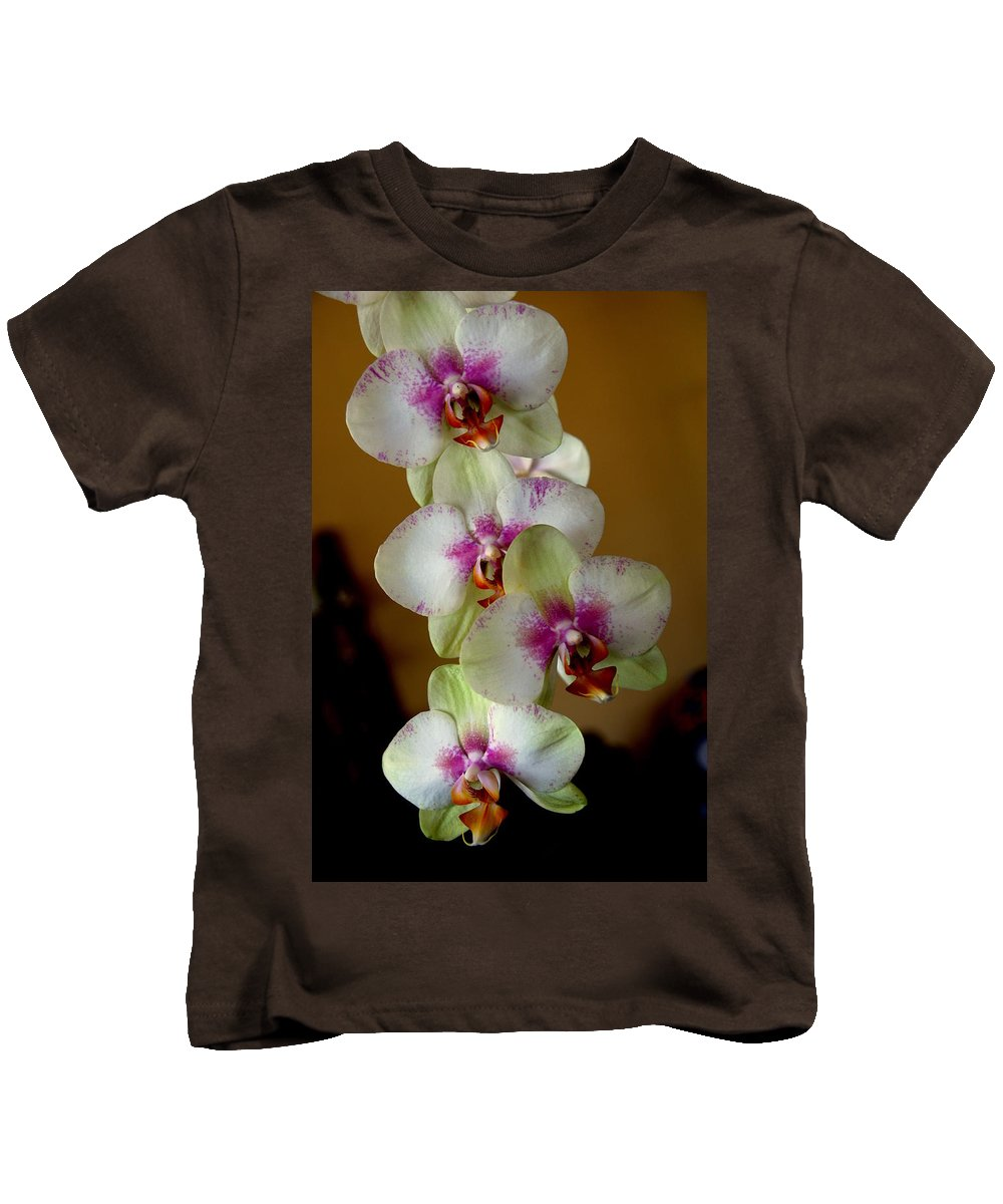 Orchids Kids T-Shirt featuring the photograph The Four Sisters by Susanne Van Hulst