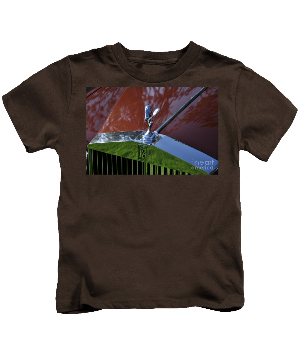 Clay Kids T-Shirt featuring the photograph The Rolls by Clayton Bruster