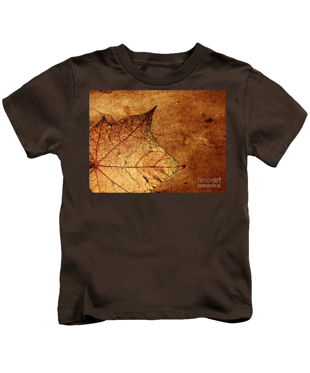 Autumn Kids T-Shirt featuring the photograph Today Everything Changes by Dana DiPasquale