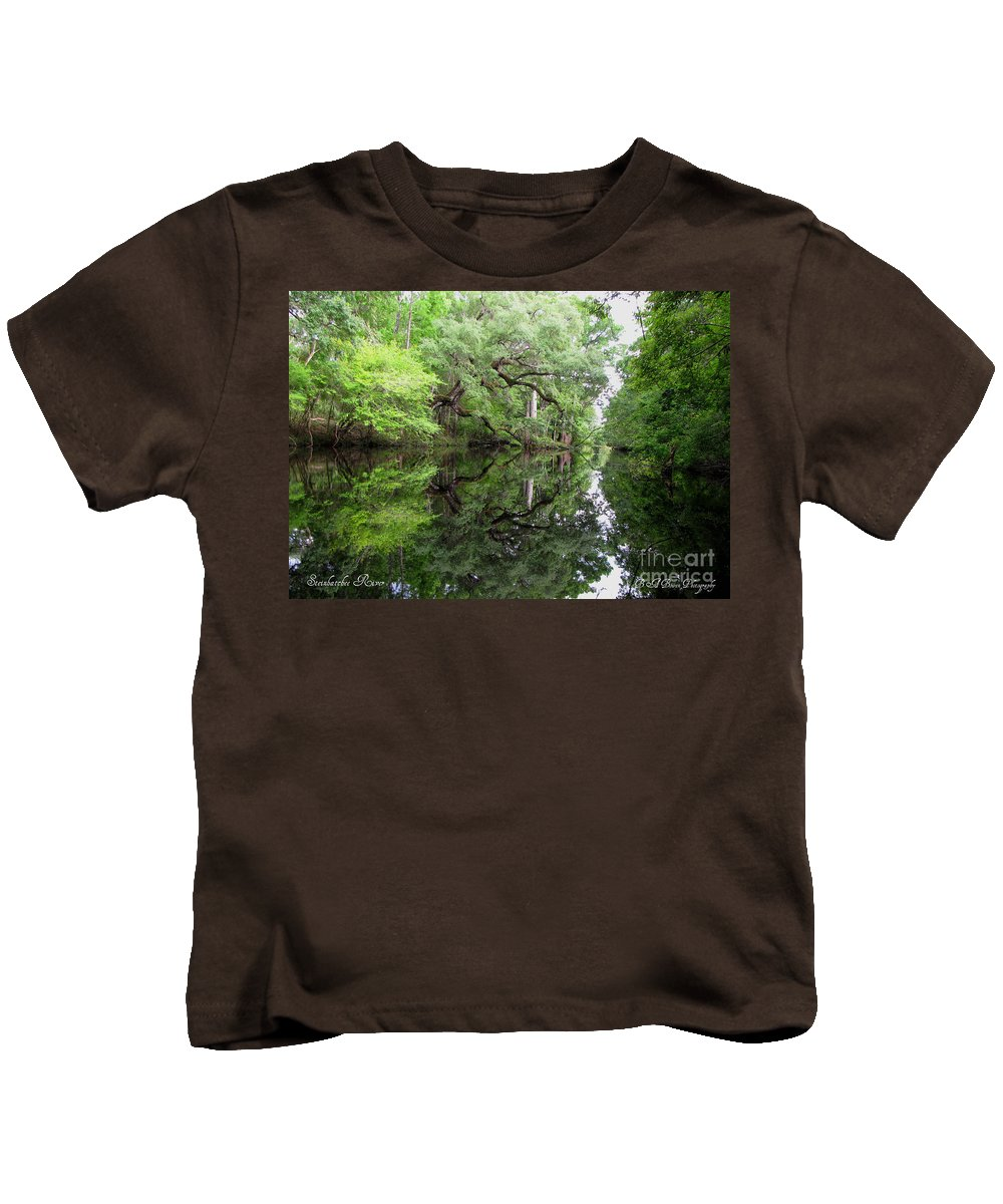 Tranquility Kids T-Shirt featuring the photograph Tranquility by Barbara Bowen