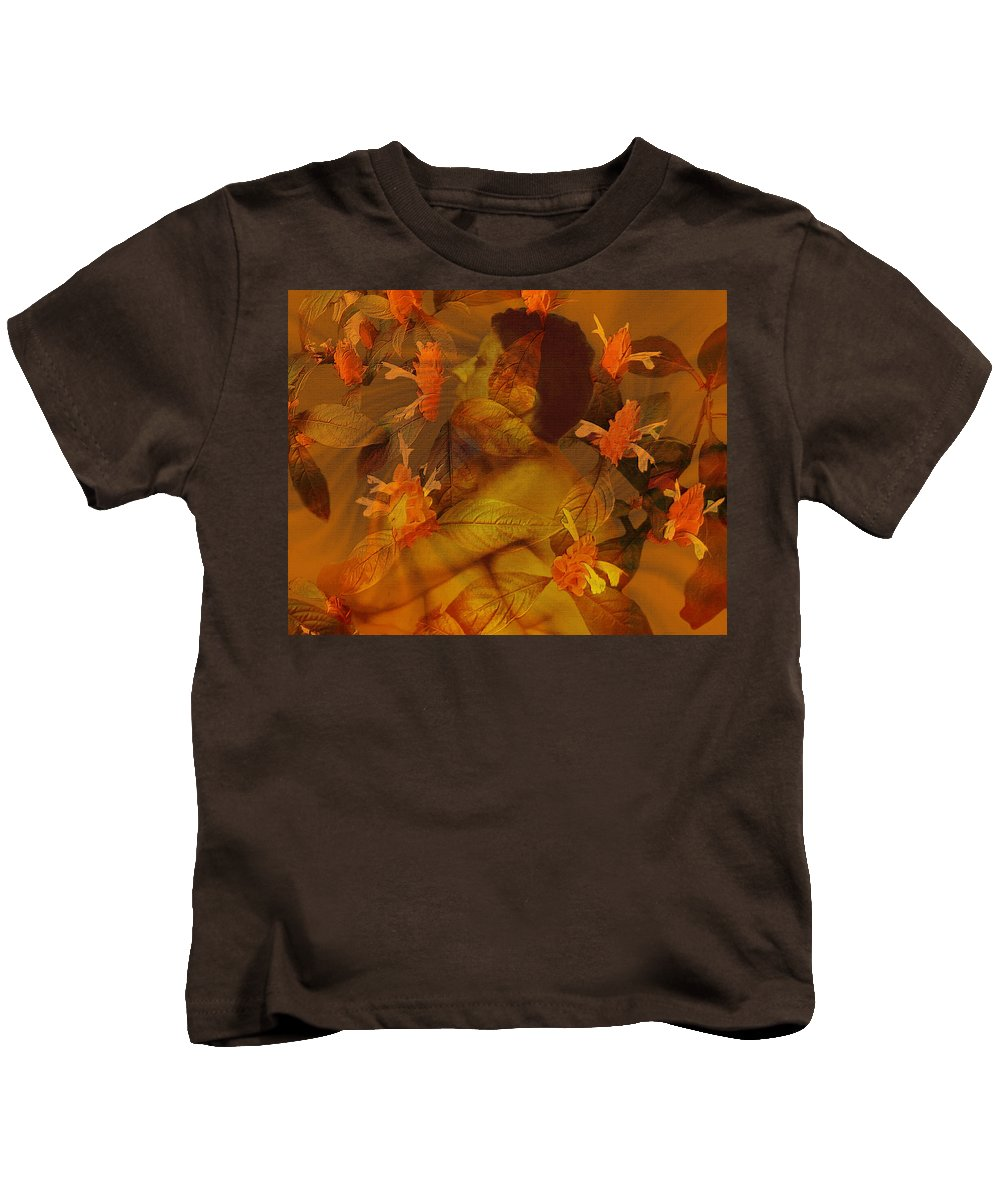 Nudes Kids T-Shirt featuring the photograph Tranquility by Kurt Van Wagner