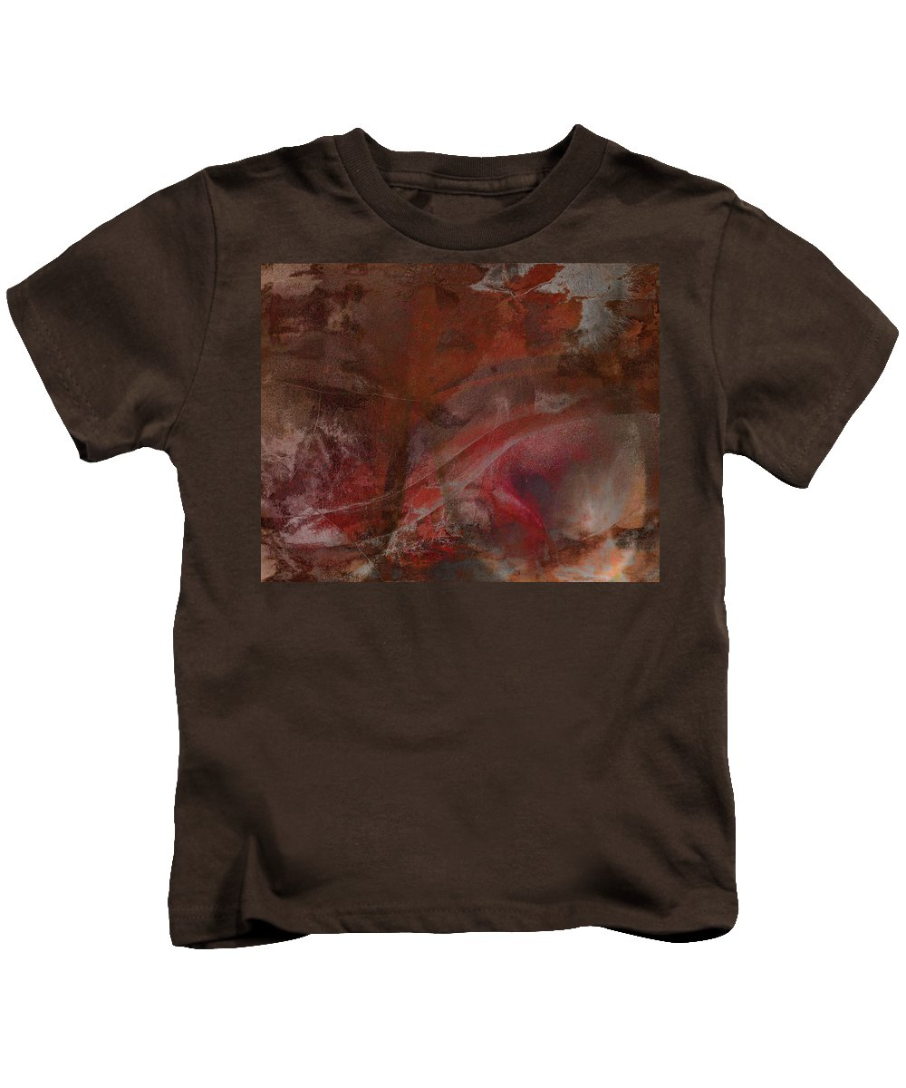 Millionaire Kids T-Shirt featuring the digital art Treasures In Autumn by James Barnes