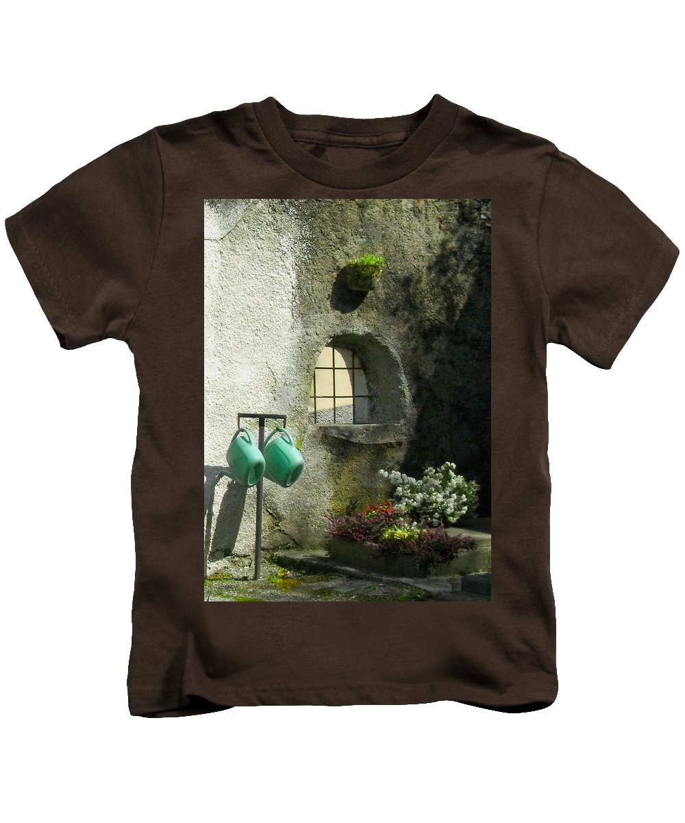 Italy Kids T-Shirt featuring the photograph Tuscan Afternoon by Lynn Andrews