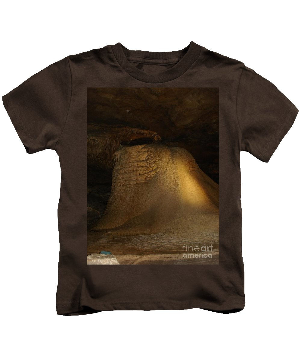 Kids T-Shirt featuring the photograph Underground Angle Test by Dan Erfurt