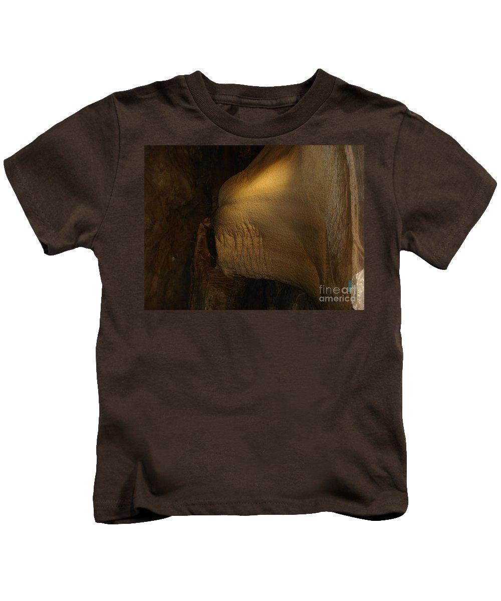 Lighting Effect Underground Kids T-Shirt featuring the photograph Underground Test by Dan Erfurt