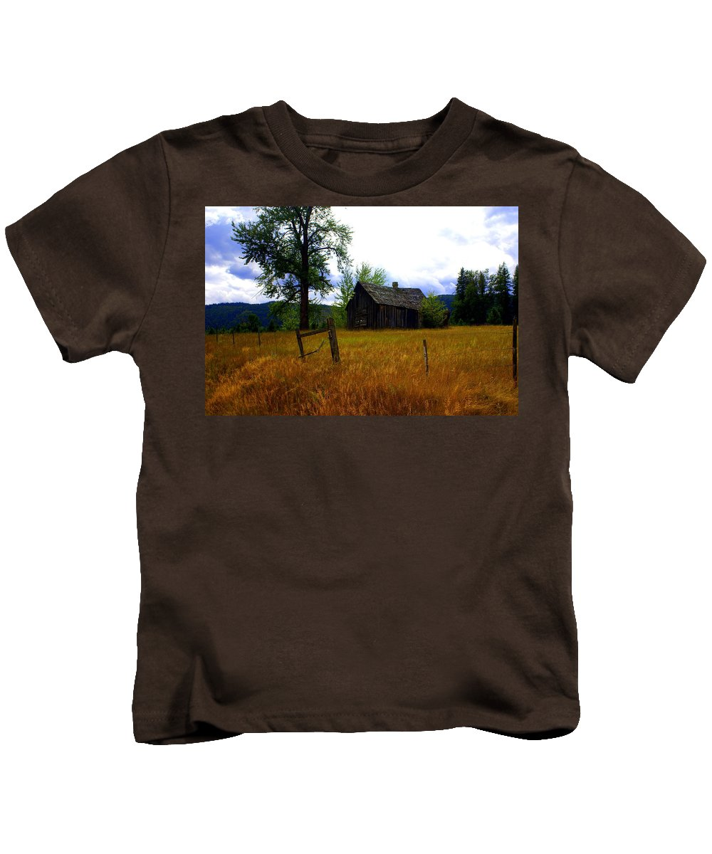 Landscape Kids T-Shirt featuring the photograph Washington Homestead by Marty Koch