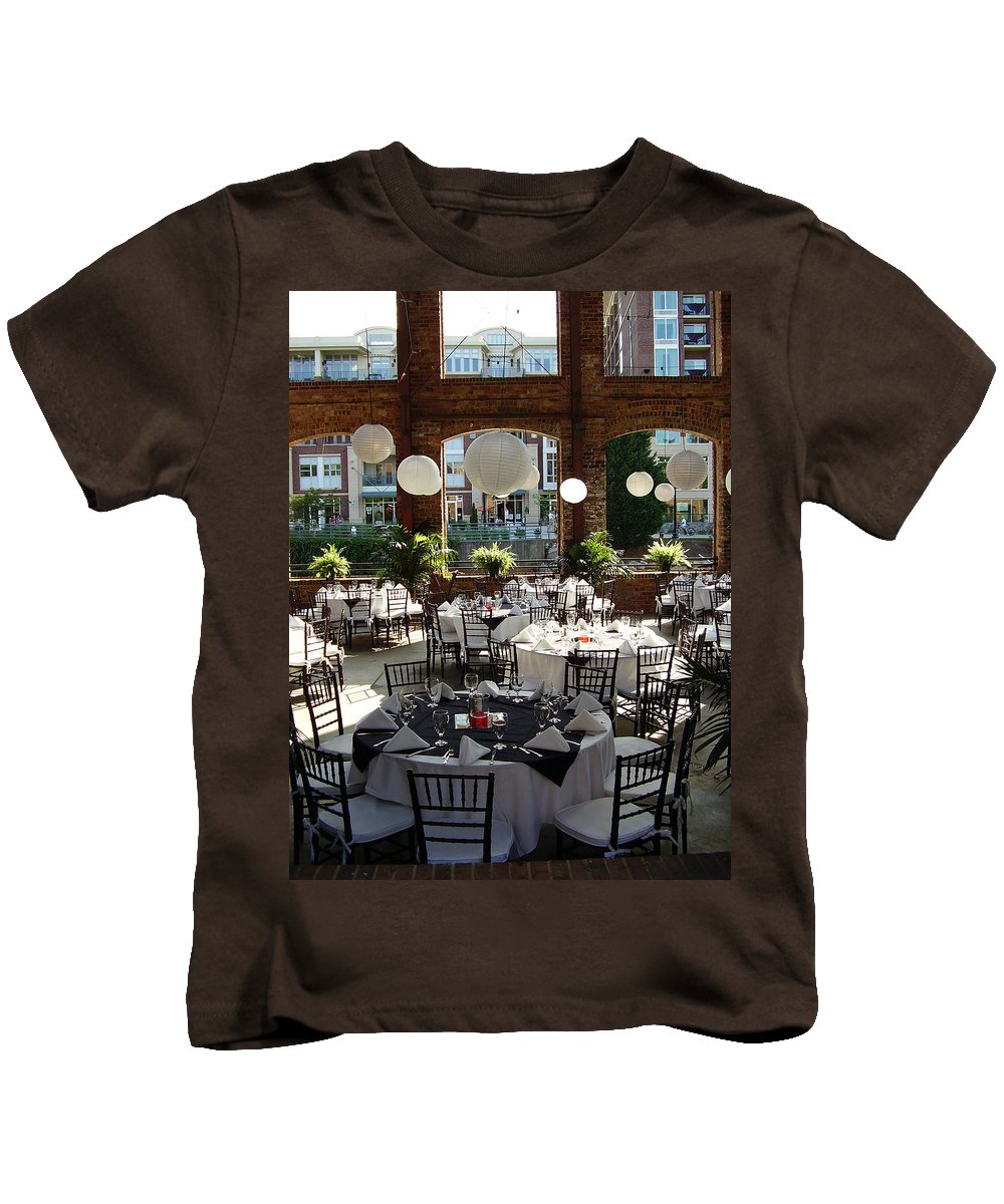 Markley Carriage Kids T-Shirt featuring the photograph Wedding by Flavia Westerwelle