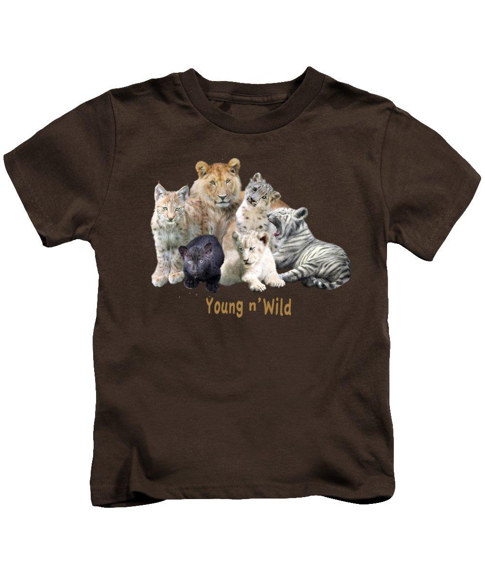 Panther Kids T-Shirts
