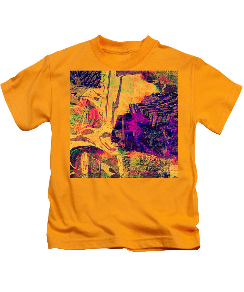 Abstract Kids T-Shirt featuring the digital art 0548 Abstract Thought by Chowdary V Arikatla