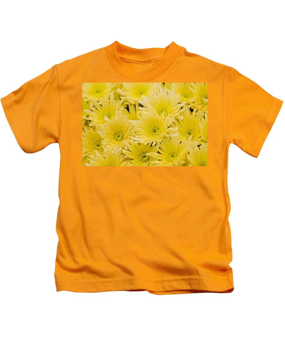 Flower Kids T-Shirt featuring the photograph Anastasia Sunny by Maj Seda