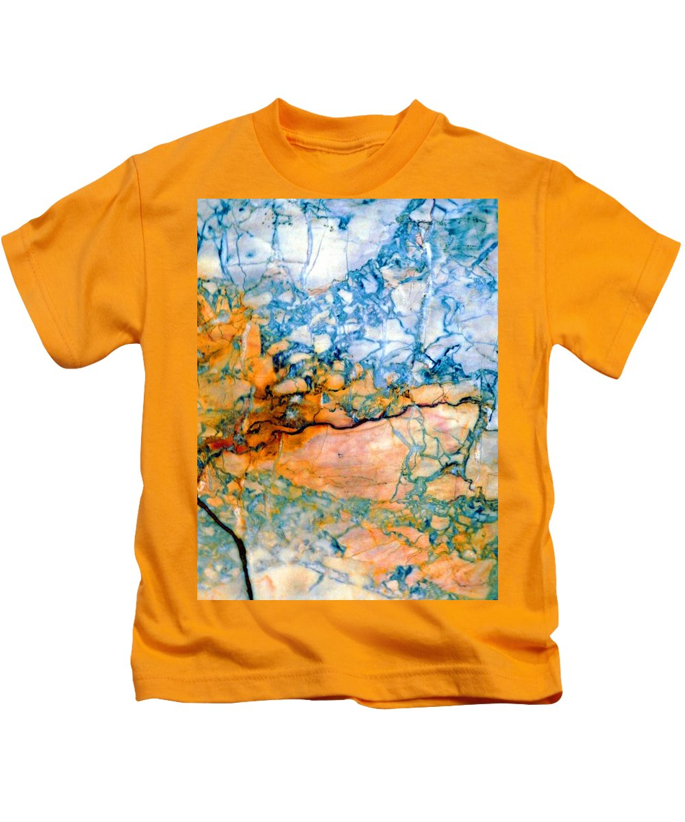 Marcia Lee Jones Kids T-Shirt featuring the photograph Bright Hues by Marcia Lee Jones