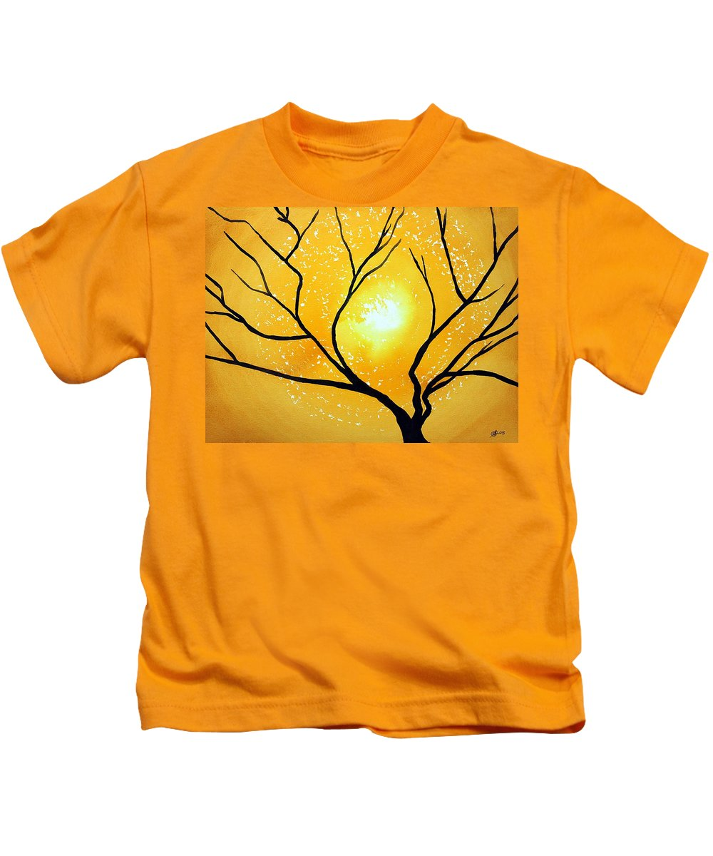 Low Country Kids T-Shirt featuring the painting Low Country Original Painting by Sol Luckman