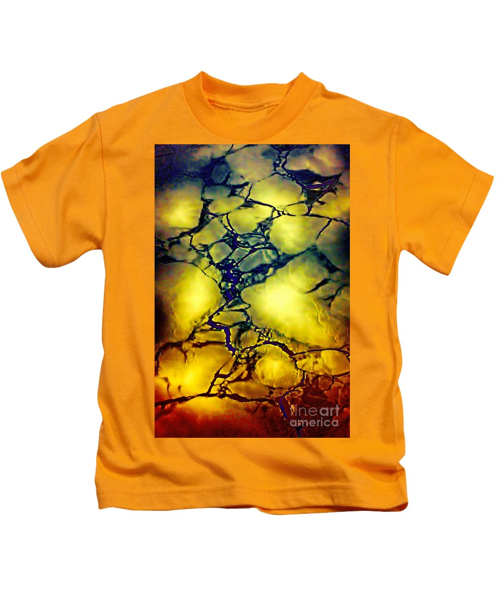 Hudson Bay Kids T-Shirt featuring the photograph Magical Yellow by Karla Weber
