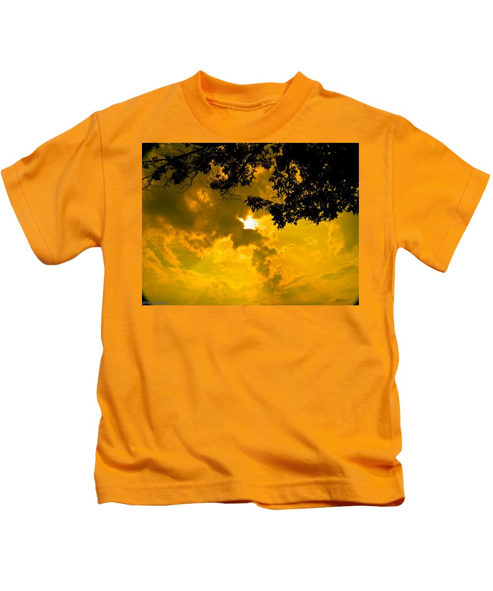 Sun Kids T-Shirt featuring the photograph Our Star by Nick Kirby