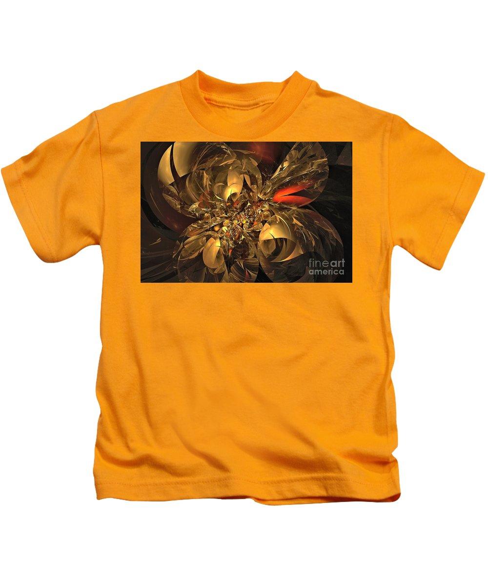 Treasure Kids T-Shirt featuring the digital art Plundered Treasure 2 by Doug Morgan
