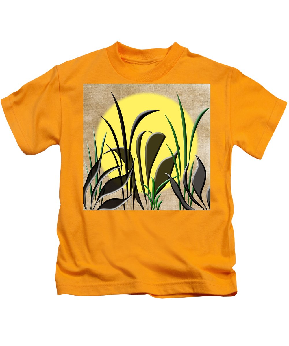 Sun Kids T-Shirt featuring the photograph Serenity by Judy Hall-Folde