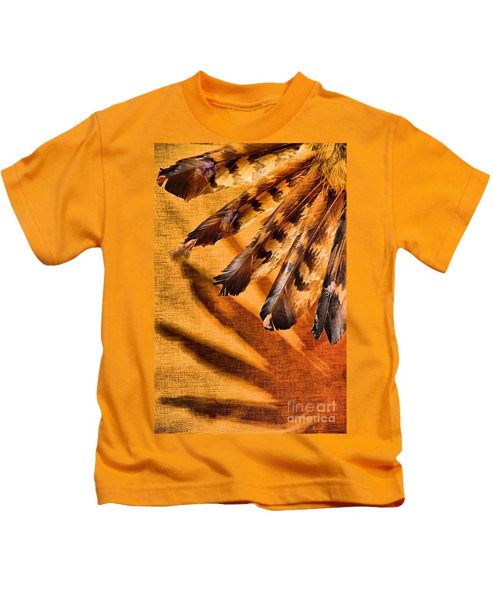 Abstract Kids T-Shirt featuring the photograph Shadowed Heritage by Lauren Leigh Hunter Fine Art Photography