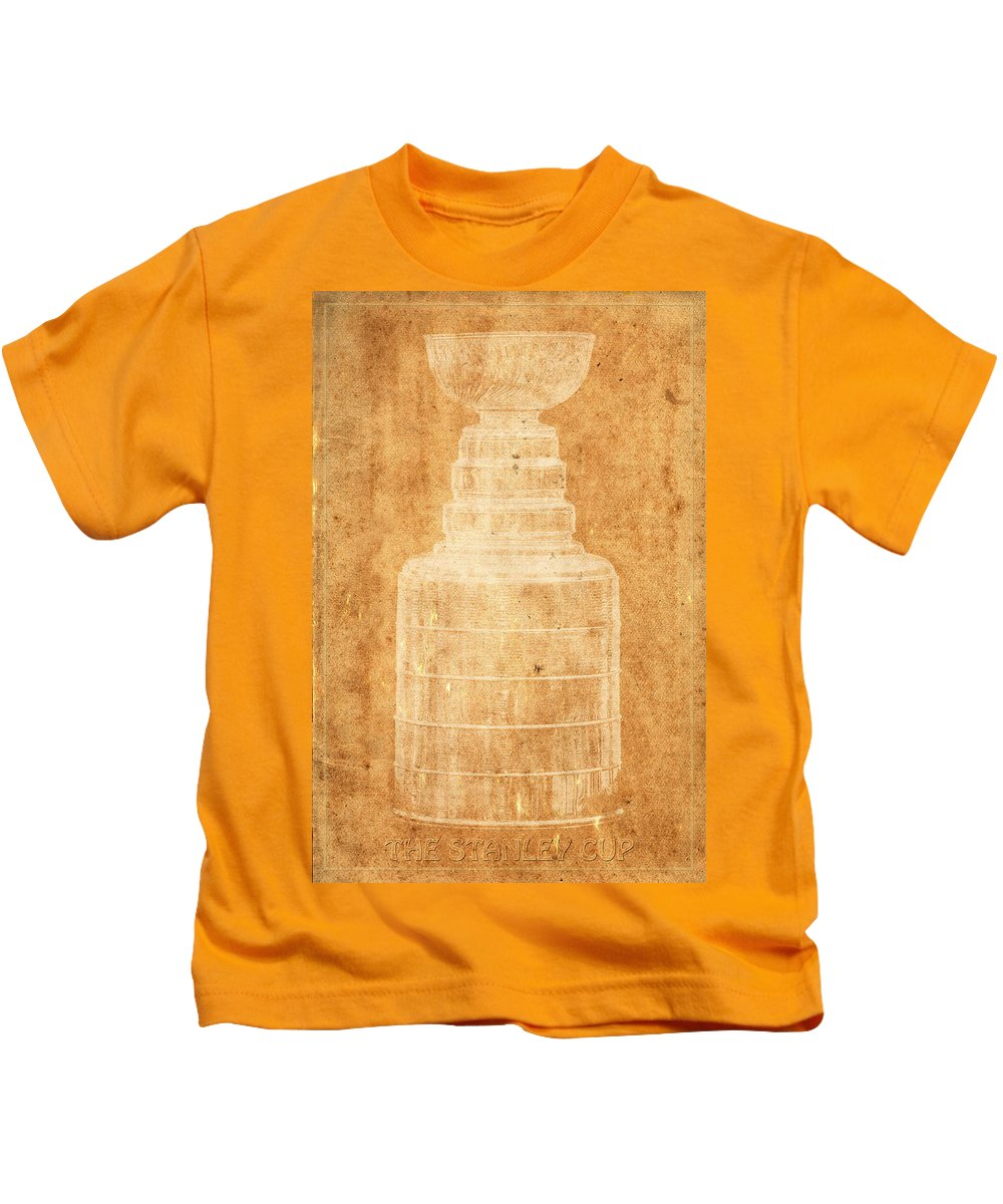 Hockey Kids T-Shirt featuring the photograph Stanley Cup 1a by Andrew Fare