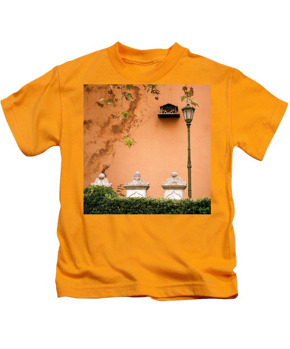 Serenity Kids T-Shirt featuring the photograph Stillness by Shaun Higson