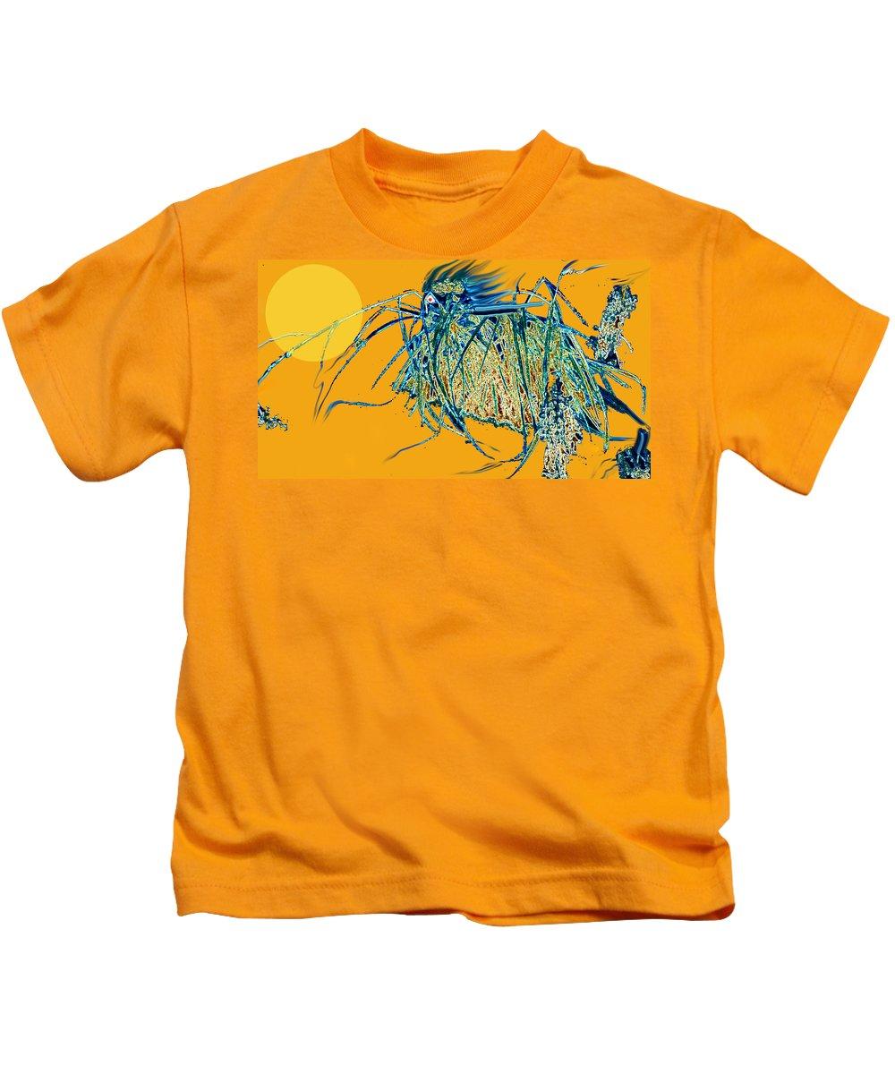War Kids T-Shirt featuring the digital art War Horse by Ian MacDonald