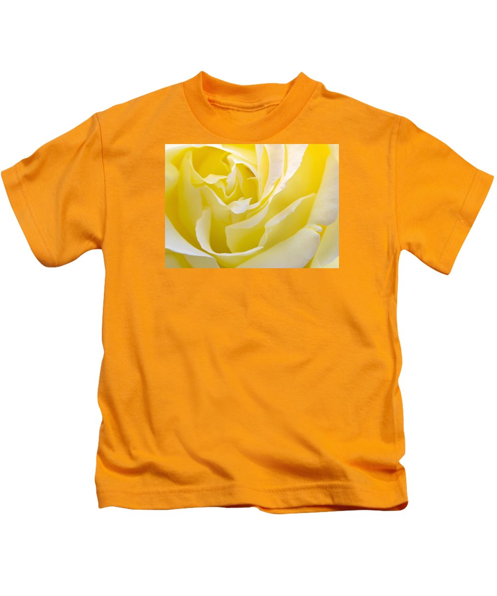 Rose Kids T-Shirt featuring the photograph Yellow Rose by Svetlana Sewell