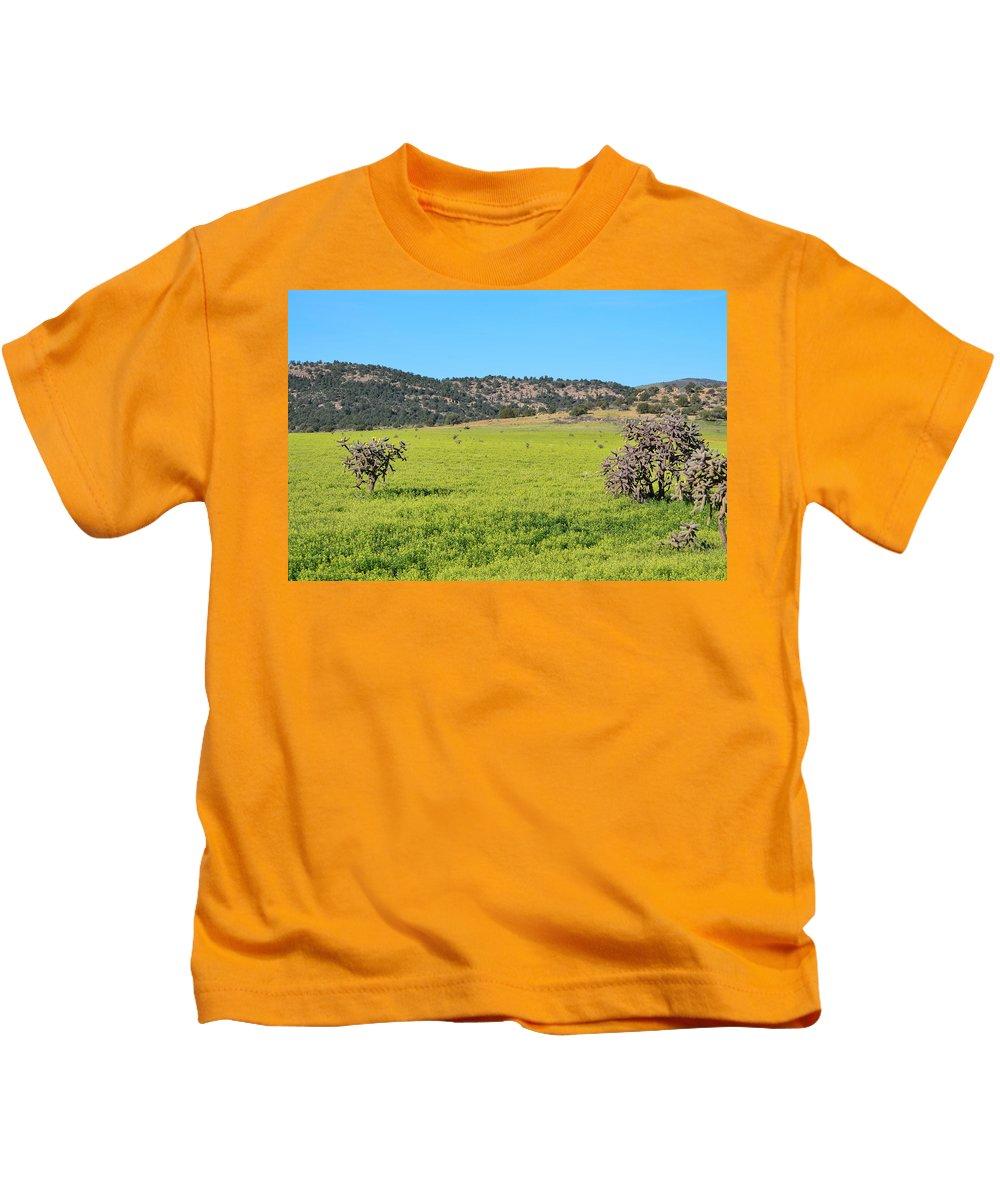 Fine Art Kids T-Shirt featuring the photograph Ash Creek Valley II by Donna Greene