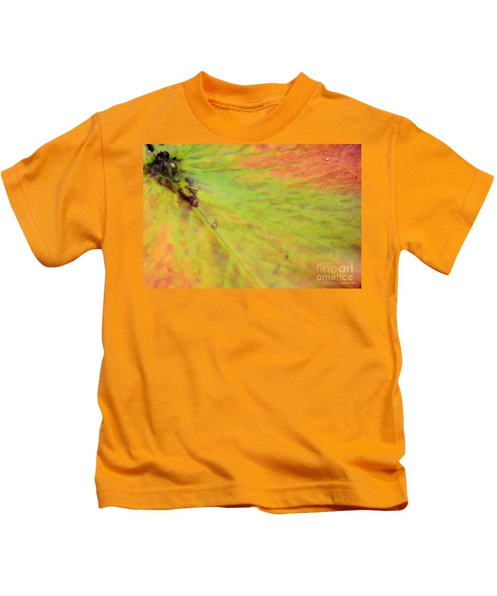 Natural Kids T-Shirt featuring the photograph Natural Abstract 42 by Maria Urso