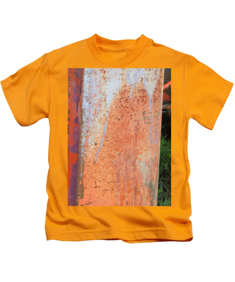 Tractor Kids T-Shirt featuring the photograph Tractor Close Up 4 by Anita Burgermeister
