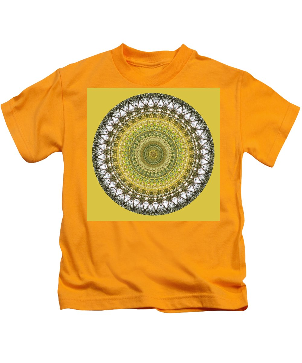 Woodland Kids T-Shirt featuring the photograph Woodland Abstract by Chris Day
