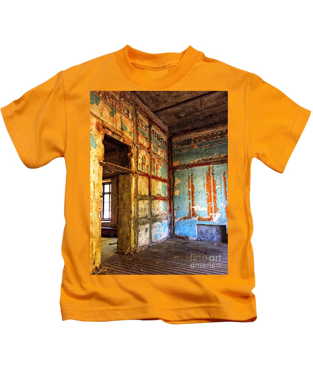 Rough Kids T-Shirt featuring the photograph Rough Interior by David Herrera