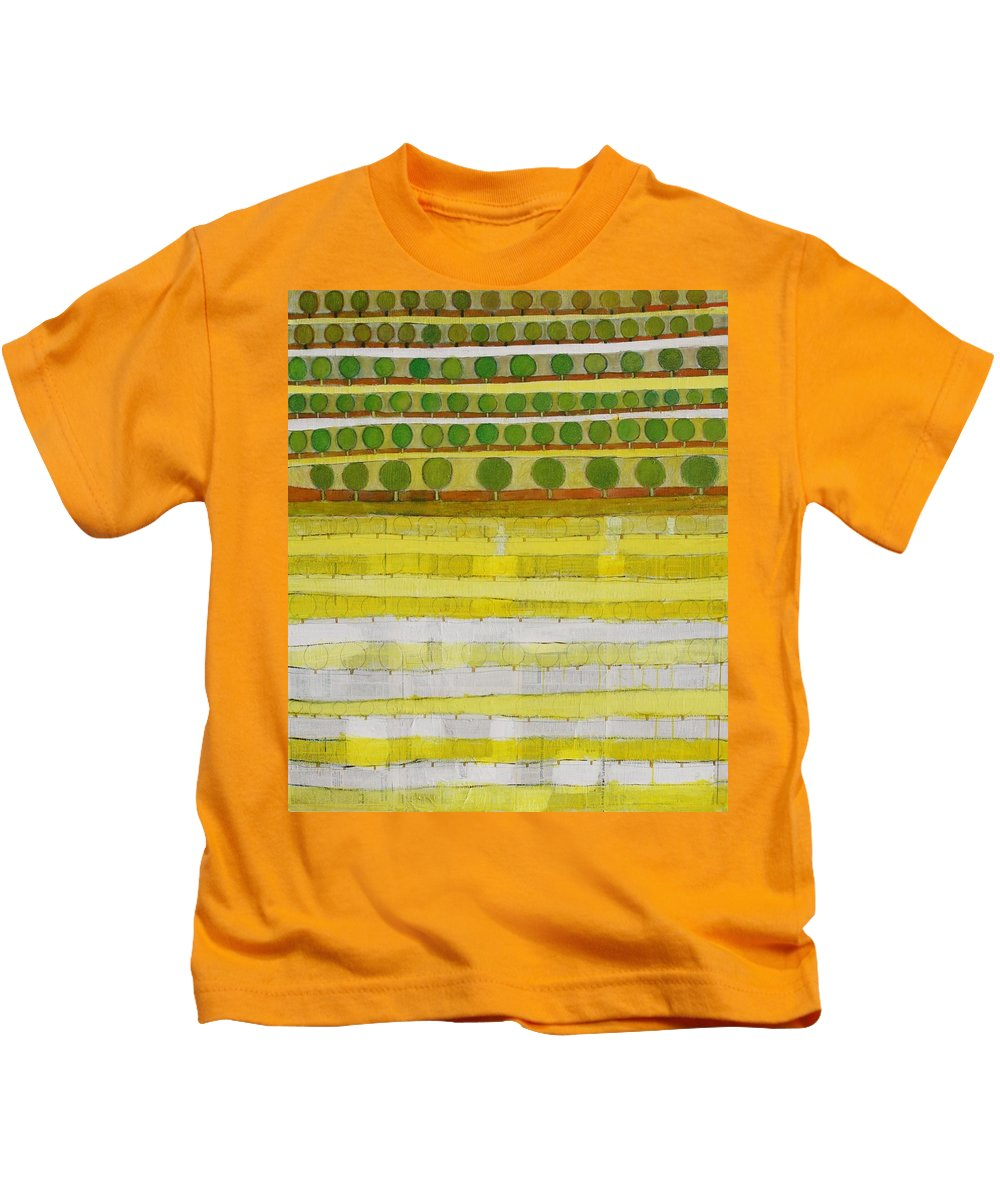 Abstract Kids T-Shirt featuring the painting The Great Loss by Habib Ayat