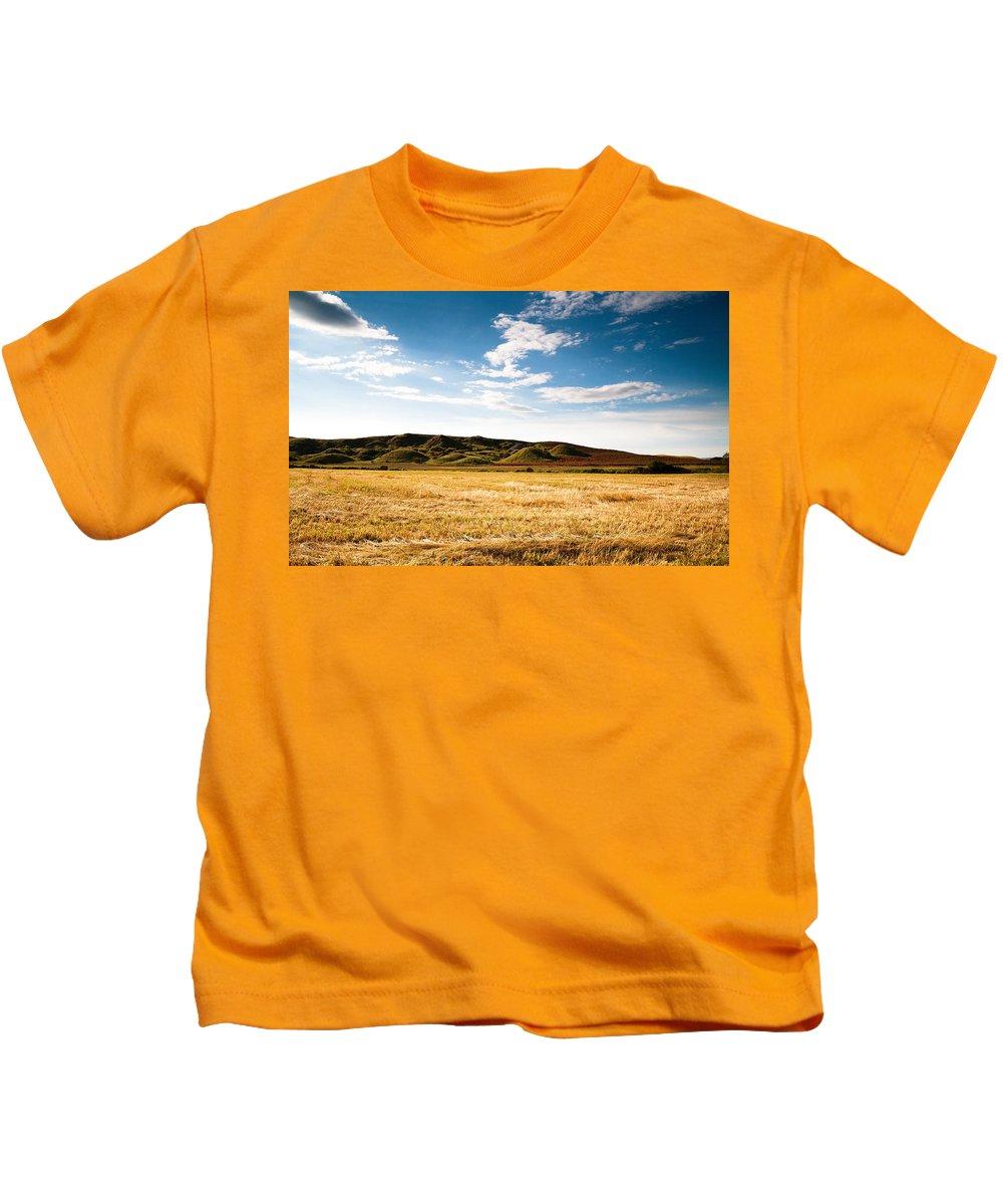 Landscape Kids T-Shirt featuring the digital art Landscape by Dorothy Binder