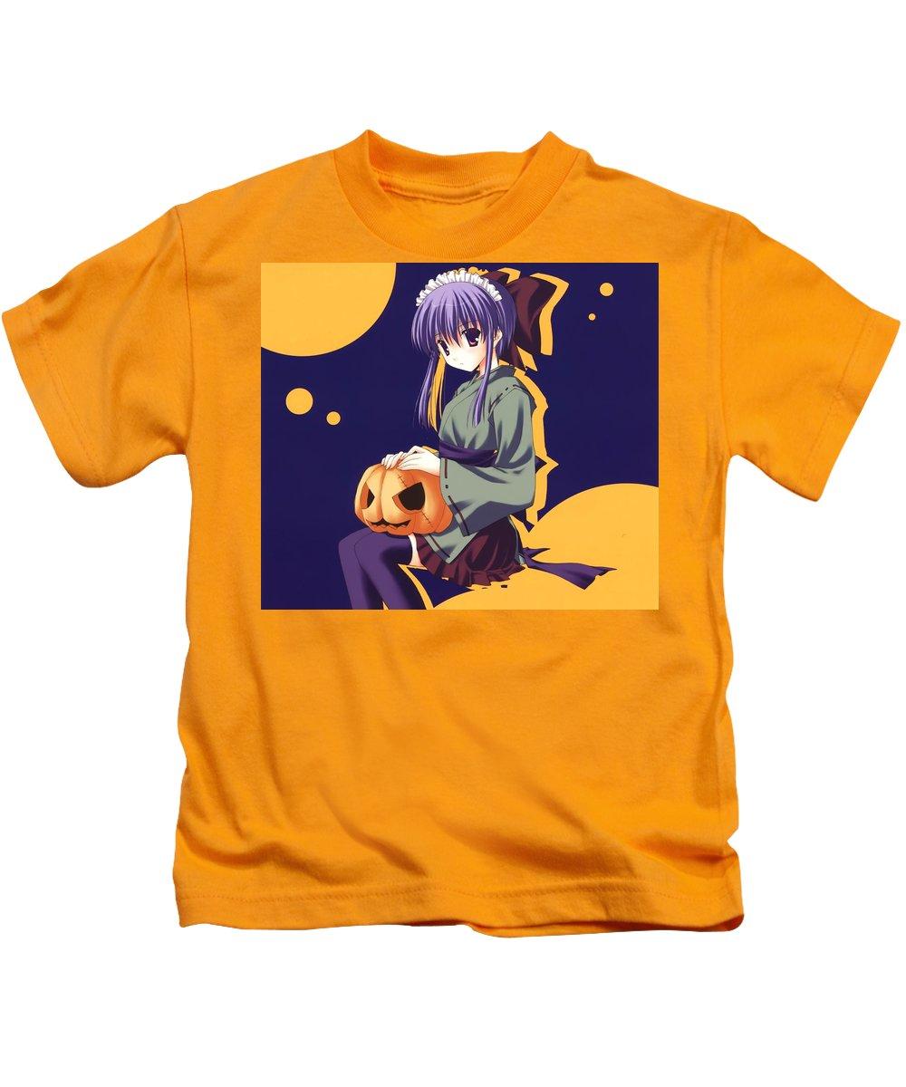 Original Kids T-Shirt featuring the digital art Original by Dorothy Binder