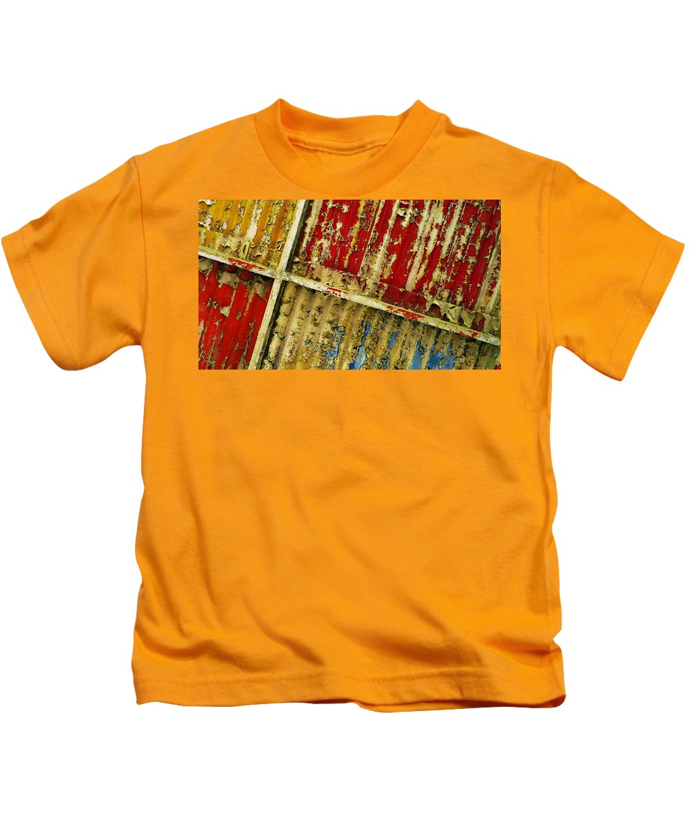 Abstract Kids T-Shirt featuring the photograph 377 At 41 Series 6 by Skip Hunt