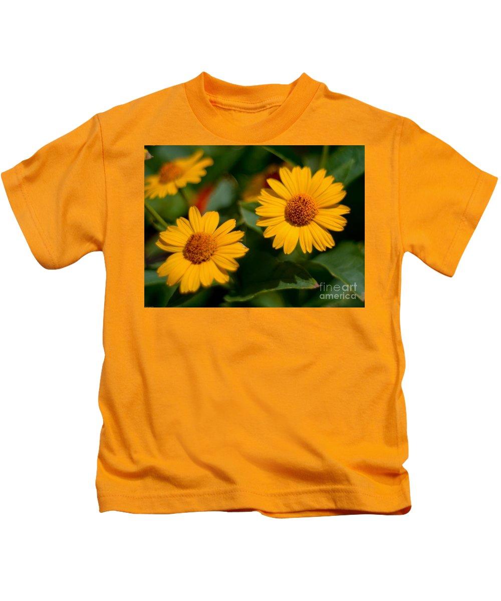 Kids T-Shirt featuring the photograph Flower by Baltzgar