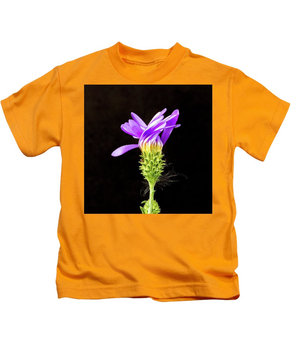 Fine Art Kids T-Shirt featuring the photograph A Desert Flower by Darby Donaho