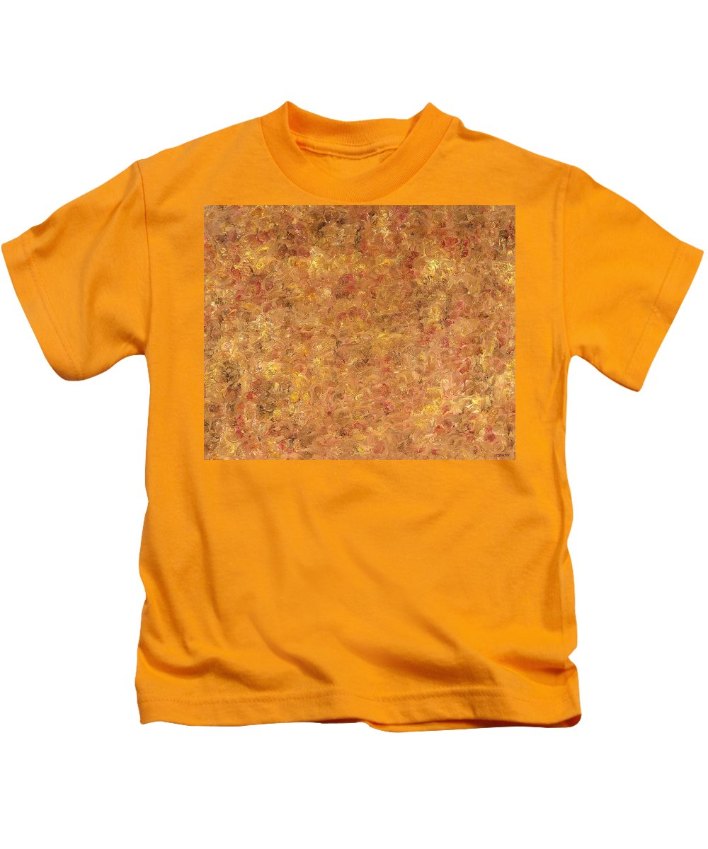 Abstract Kids T-Shirt featuring the painting Abstract 527 by Patrick J Murphy