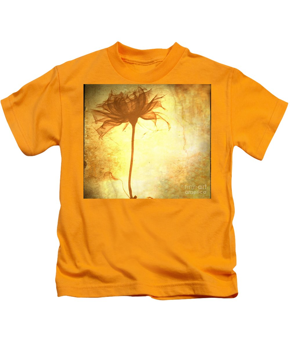 Flower Kids T-Shirt featuring the painting Against All Odds by Jacky Gerritsen