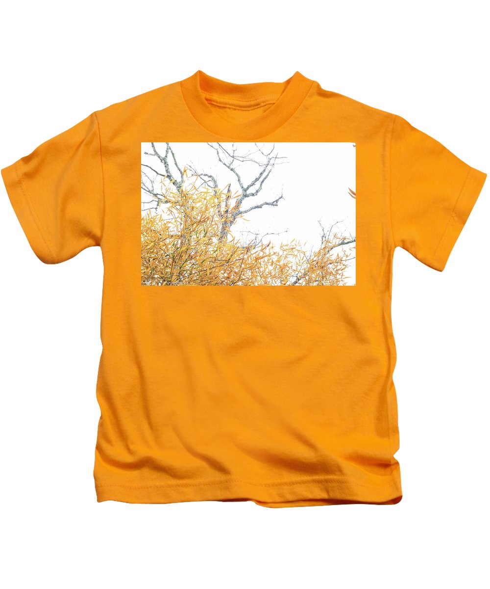 Bamboo Kids T-Shirt featuring the photograph Asian In The South by DA Photography