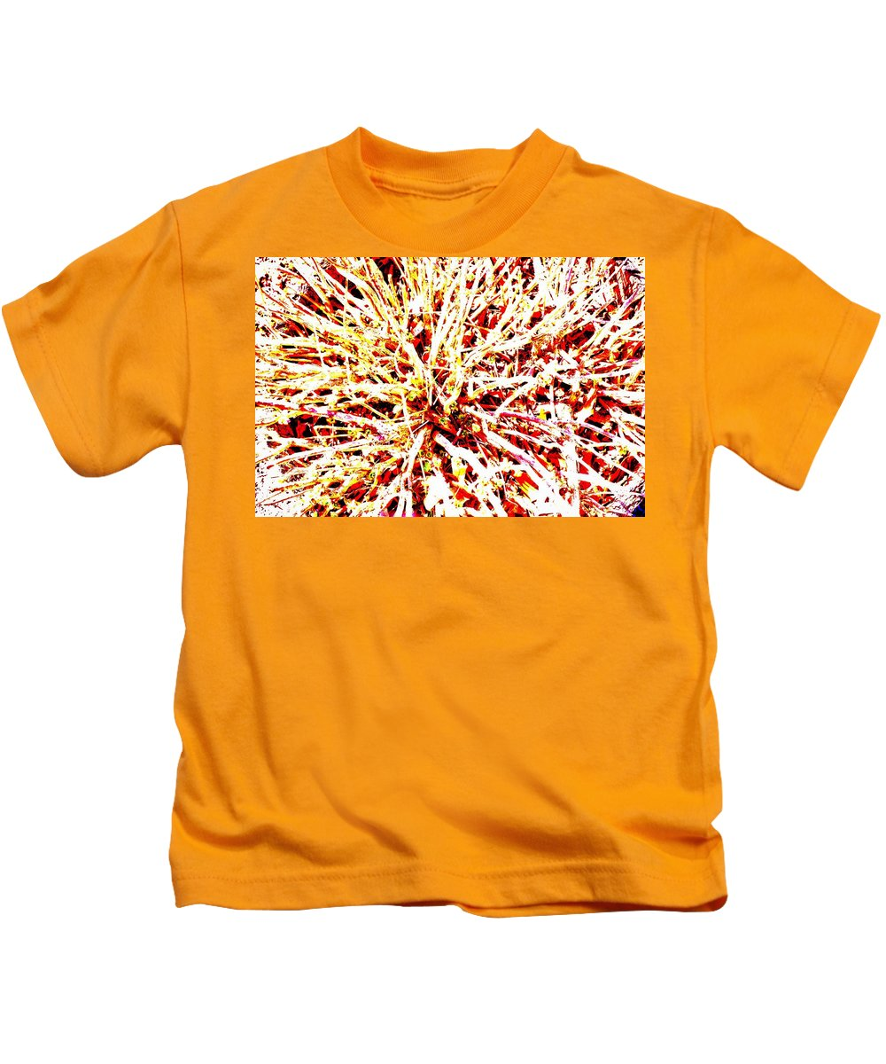 Abstract Kids T-Shirt featuring the photograph Bloom by Ronald Watkins