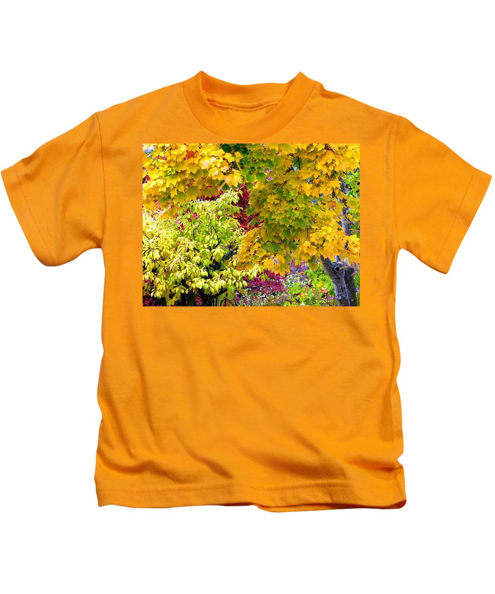 Autumn Kids T-Shirt featuring the photograph Country Color 15 by Will Borden
