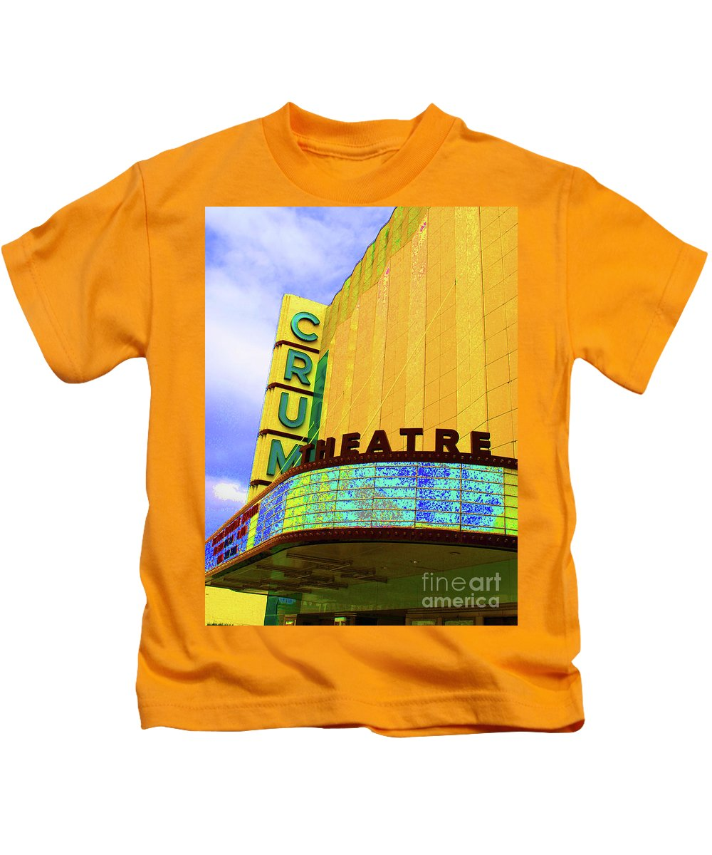 Crump Kids T-Shirt featuring the photograph Crum Of The Crump by Jost Houk