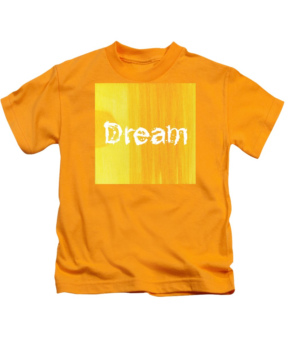 Love Kids T-Shirt featuring the painting Dream by Kathleen Wong