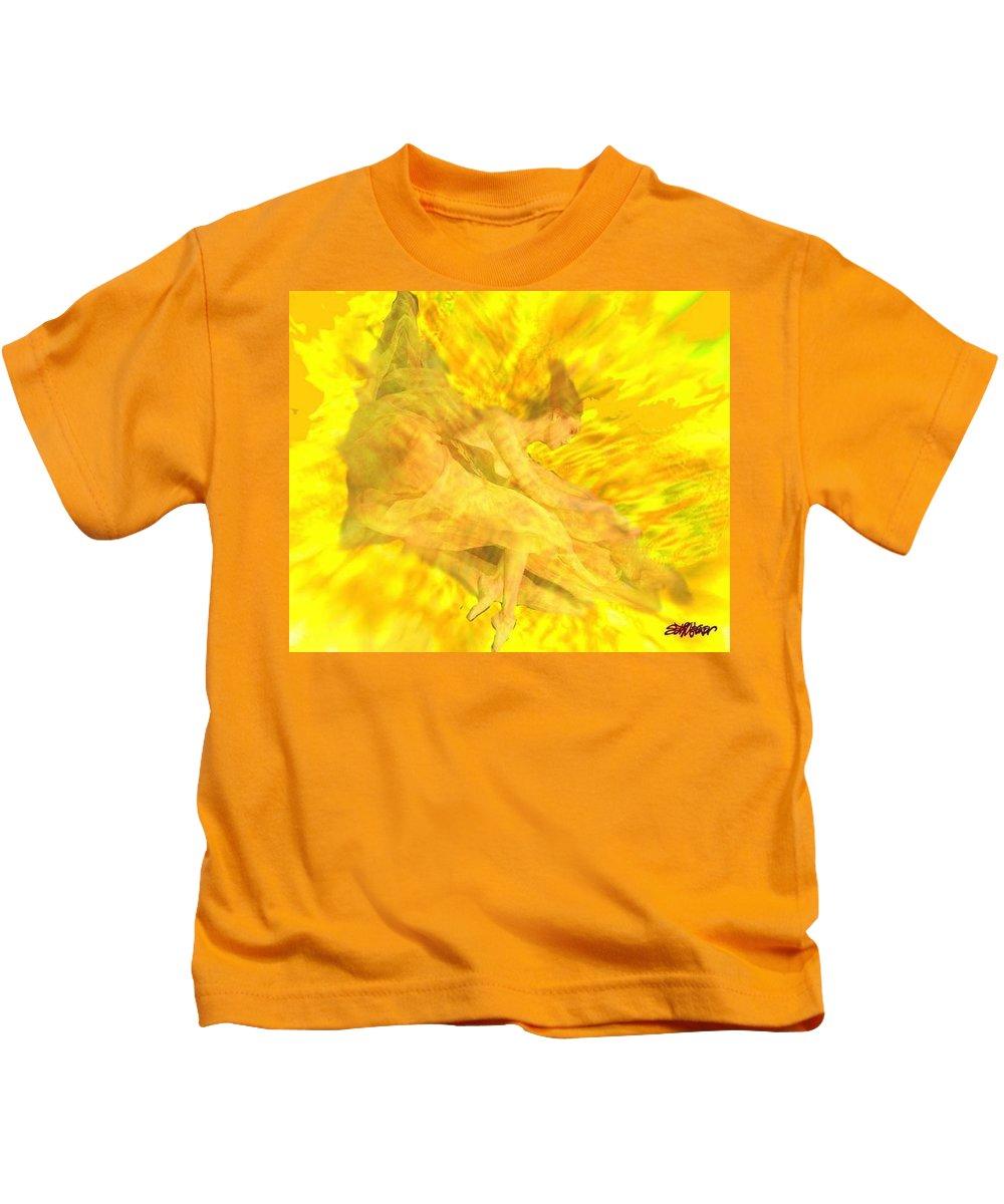 Joy Kids T-Shirt featuring the digital art Endless Joy by Seth Weaver