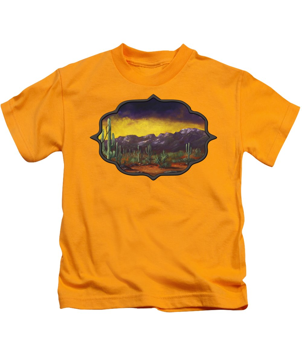 Barren Paintings Kids T-Shirts