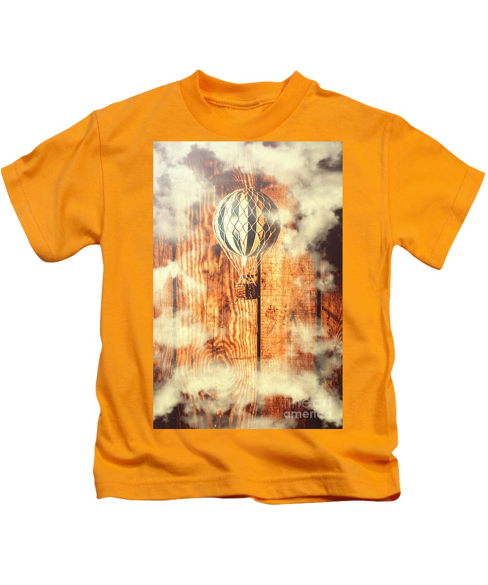 Still Life Kids T-Shirt featuring the photograph Exhibit In Adventure by Jorgo Photography - Wall Art Gallery
